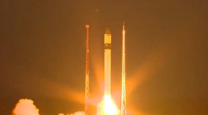 Video: Russian Rockot Booster Blasts Off with Sentinel-3B