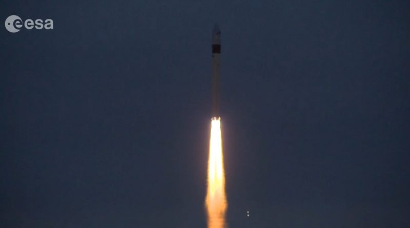 Sentinel-3B Land & Ocean-Sensing Satellite Delivered to Orbit by Russian Rockot Booster