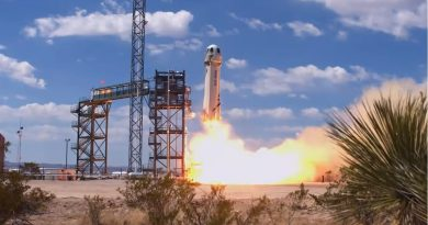 Blue Origin's New Shepard Reaches new Heights in latest Test Flight