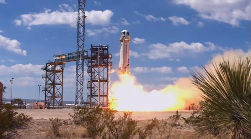 Blue Origin's New Shepard Reaches new Heights in latest Test Flight