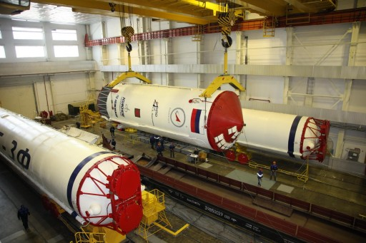 Zenit Second Stage - Photo: Tsenki/Roscosmos